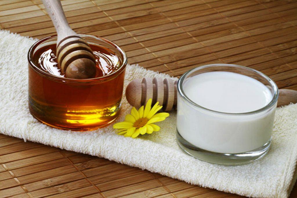 Чай с молоком и мёдом