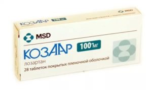 Таблетки Козаар