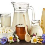 Молочные и кисломолочные продукты