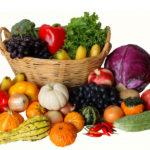 Побольше овощей и фруктов