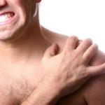 Поражения кожи в районе плеча