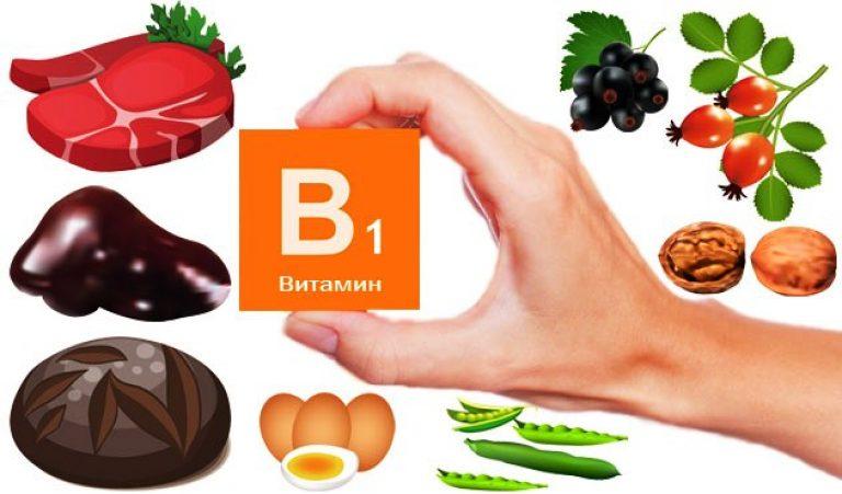 Продукты, витаминов группы В