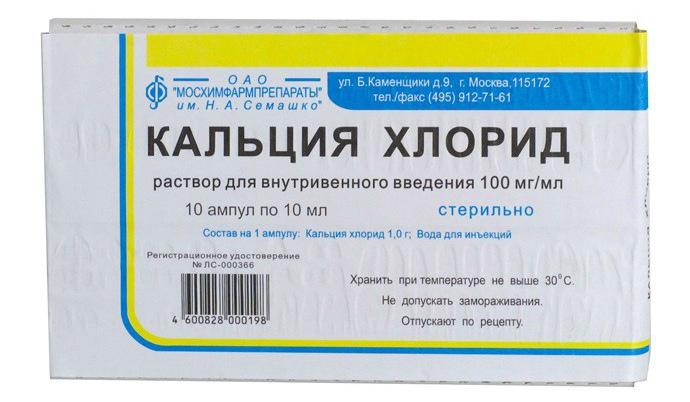 Антидот Кальция глюконат
