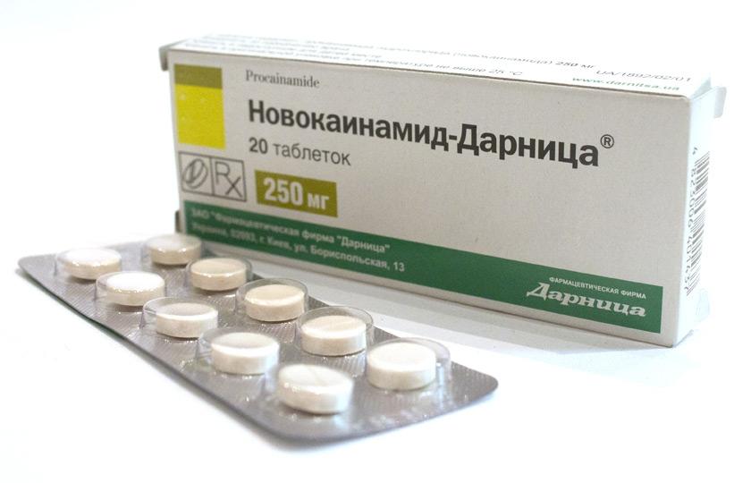 Лечение прокаинамидом