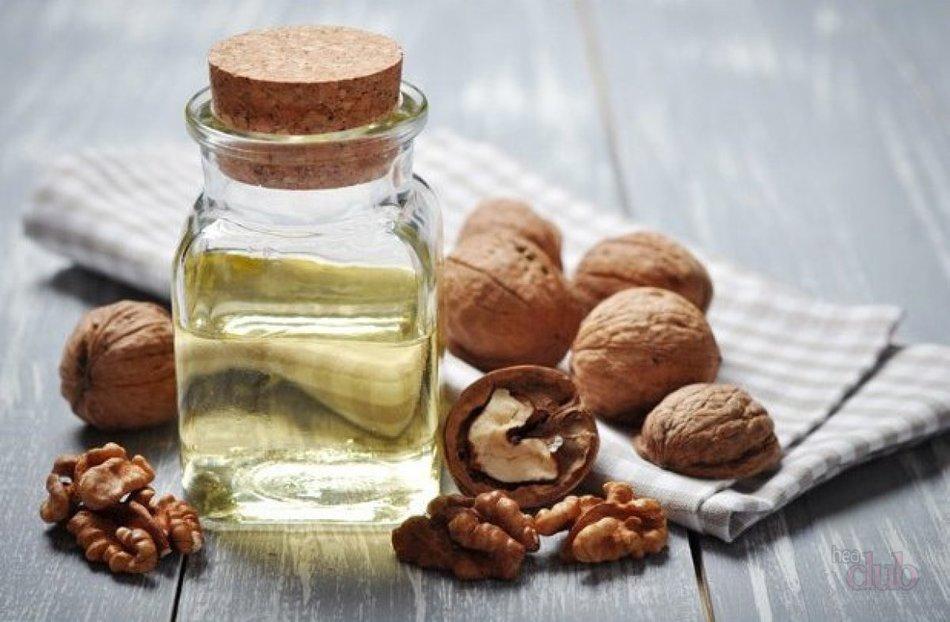 Грецкий орех и льняное масло