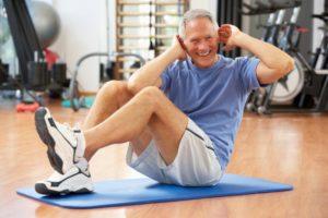 Заниматься лечебной физкультурой