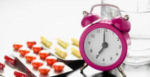 Схема приема лекарственных препаратов