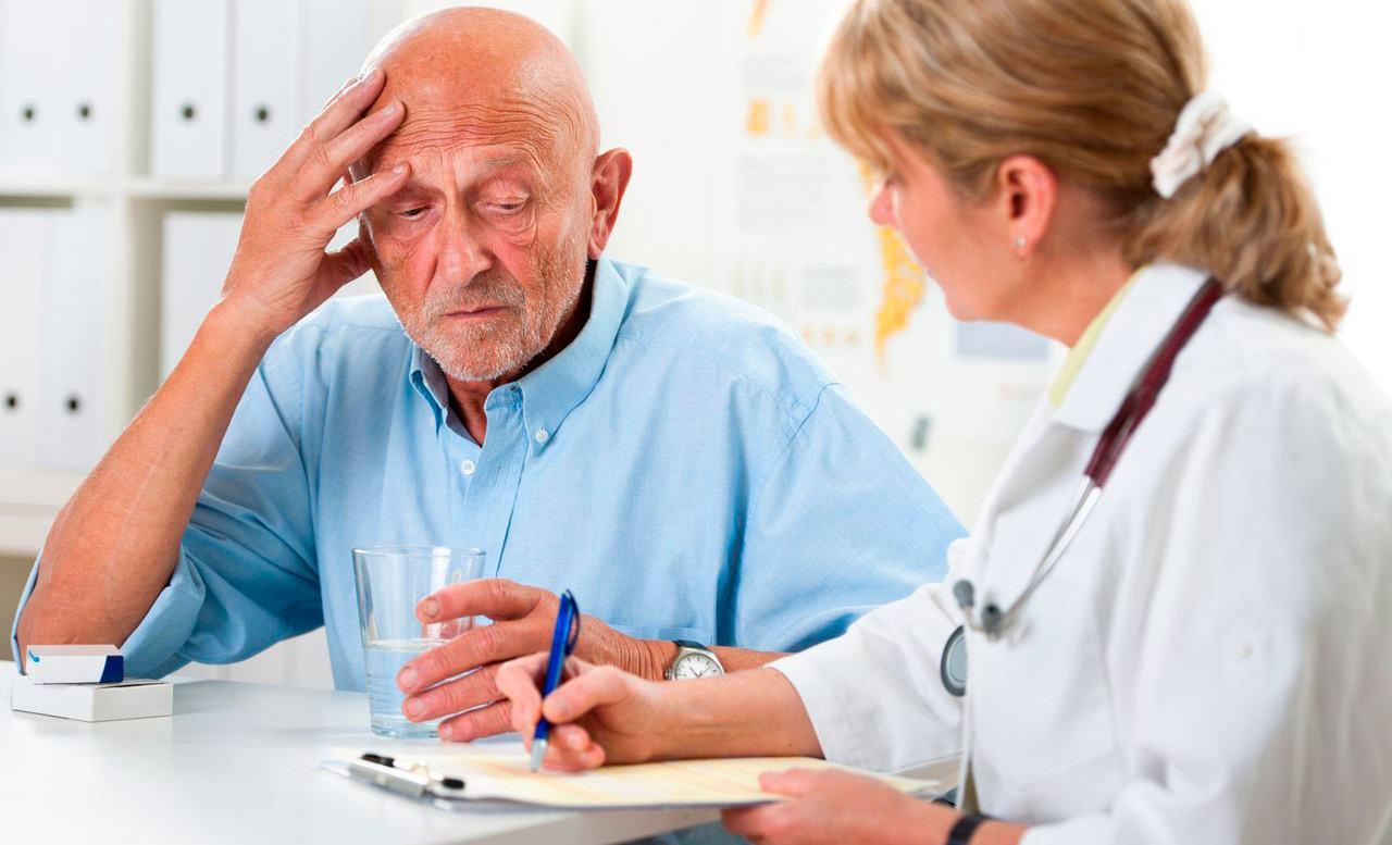 Больной старшей возрастной категории