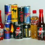 Газированные напитки и энергетики