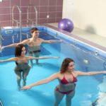 Гимнастические упражнения в воде
