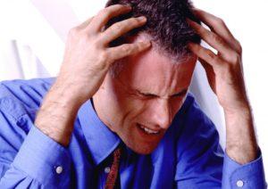Изменение давления вызывает болезненные ощущения