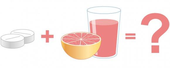 Грейпфрутовый сок и лекарства