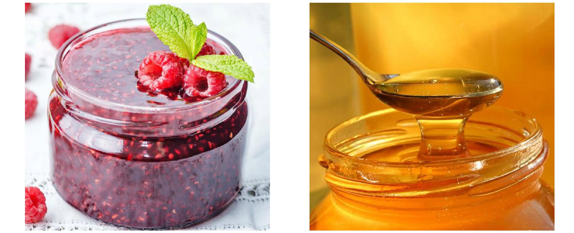 Малиновое варенье с медом