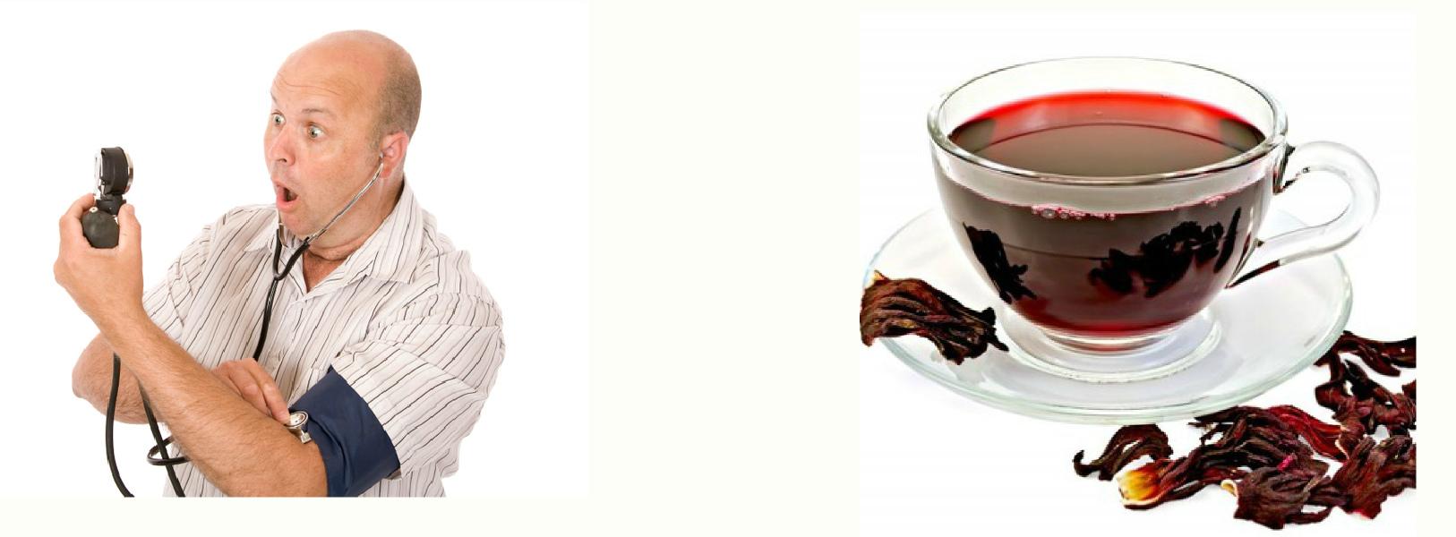 Чай каркаде при повышенном давлении