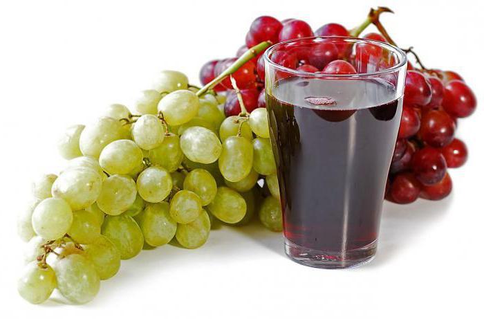Свежевыжатый сок из винограда