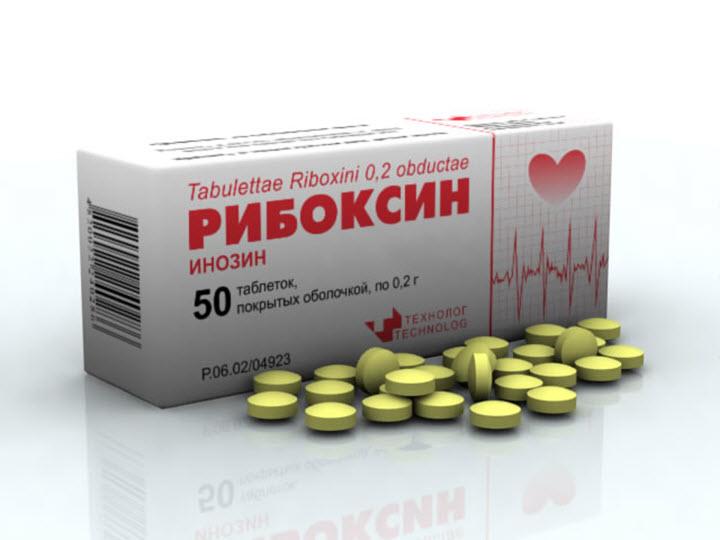 Список показаний для приема Рибоксина