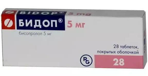 Бидоп в таблетках